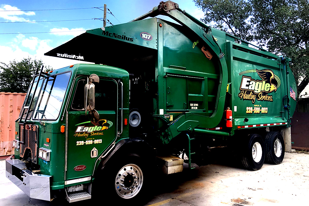 Recycled Construction Debris, Eagle Hauling Services