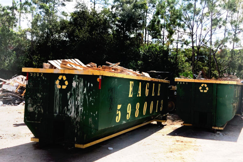 The word dumpster